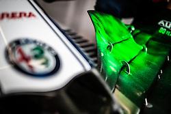 September 20, 2019, Singapore, Singapore: Motorsports: FIA Formula One World Championship 2019, Grand Prix of Singapore, .Technical detail of Alfa Romeo Racing  (Credit Image: © Hoch Zwei via ZUMA Wire)