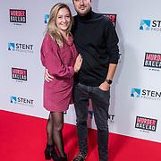 NL/Gouda/20201012 - Premiere Murder Ballad, Priscilla Knetemann en partner Mickel Wennekes