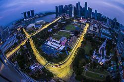 September 15, 2018 - Singapore, Singapore - Motorsports: FIA Formula One World Championship 2018, Grand Prix of Singapore, . general view of the track  (Credit Image: © Hoch Zwei via ZUMA Wire)