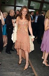 MISS NATASHA CORRETT daughter of interior designer Kelly Hoppen at the annual Serpentine Gallery Summer Party co-hosted by Jimmy Choo shoes held at the Serpentine Gallery, Kensington Gardens, London on 30th June 2005.<br /><br />NON EXCLUSIVE - WORLD RIGHTS