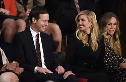 Jared Kushner and Ivanka Trump attend President Trump 's State of the Union address to a joint session of the U.S. Congress on Capitol Hill February 5, 2019 in Washington, DC. DC.Photo by Olivier Douliery/ABACAPRESS.COM