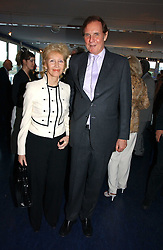 JONATHAN AITKEN and his wife ELIZABETH HARRIS at a party hosted by Sonia & Andrew Sinclair at The Westminster Boating Base, 136 Grosvenor Road, London SW1 on 5th June 2006.<br /><br />NON EXCLUSIVE - WORLD RIGHTS