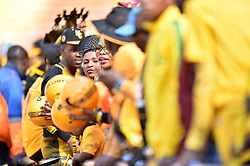 Kaizer Chiefs supporters in large numbers for the Kaizer Chiefs and Mamelodi Sundowns Shell Helix Ultra Cup at FNB stadium, Johannesburg.<br />Picture: Itumeleng English/African News Agency (ANA)