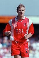Stewart Hadley- Kidderminster. Kidderminater Harriers v Torquay United. League Division Three, 12/8/00. Credit Colorsport / Nick Kidd.