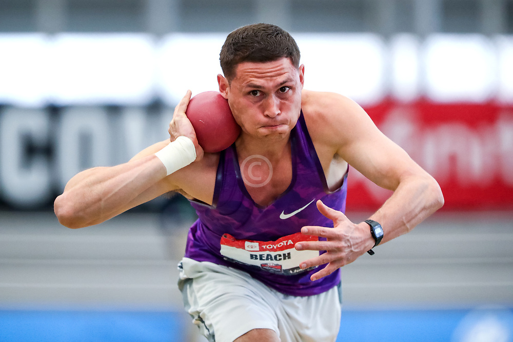 USATF Indoor Track and Field Championships<br /> held at Ocean Breeze Athletic Complex in Staten Island, New York on February 22-24, 2019; Heptathlon