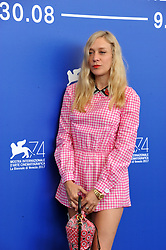 "74 Venice Film Festival ""Lean on Pete"" Photocall. 01 Sep 2017 Pictured: 74 Venice Film Festival ""Lean on Pete"" Photocall, Chloë Sevigny. Photo credit: Pongo / MEGA TheMegaAgency.com +1 888 505 6342"