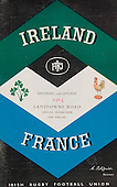 Rugby 1965 - 23/01 Five Nations Ireland Vs France