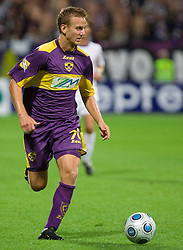 Ales Mertelj of Maribor at Third Round of Champions League qualifications football match between NK Maribor and FC Zurich,  on August 05, 2009, in Ljudski vrt , Maribor, Slovenia. Zurich won 3:0 and qualified to next Round. (Photo by Vid Ponikvar / Sportida)