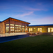 Residential architectural photography example of Chip Allen's work.