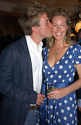 BEN FOGLE and MARINA HUNT at a private screening of 'Sketches of Frank Gehry in association with jewellers Tiffany held at the Curzon Cinema, Mayfair on 10th May 2006 followed by a party at Nobu Mayfair, Berkeley Street.<br /><br />NON EXCLUSIVE - WORLD RIGHTS