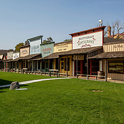 At the Boot Hill Museum in Dodge City, Kansas, October 2020.
