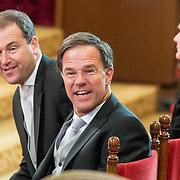 NLD/Den Haag/20170919 - Prinsjesdag 2017, Mark Rutte, Lodewijk Asscher,