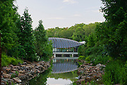 East entrance of Crystal Bridges Museum of American Art on Monday, June 10, 2013, in Bentonville, Ark.