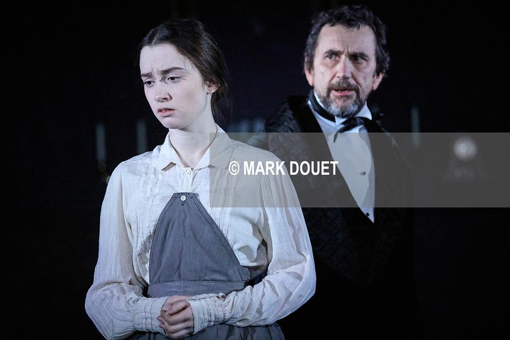 Dr Jekyll and Mr Hyde at the Rose Theatre. Director Kate Saxon. Designer Simon Higlett. Lighting Mark Jonathan