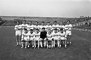 All-Ireland Under 21 Football Final, Derry v Offaly. <br /> The Derry Team.<br /> 08.09.1968