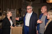 HANS ULRICH OBRIST; BLOOMBERG LUNCH, METROPOLE HOTEL, . Venice Biennale, 10 May 2017