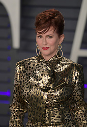 February 24, 2019 - Beverly Hills, California, U.S - Megan Mullally on the red carpet of the 2019 Vanity Fair Oscar Party held at the Wallis Annenberg Center in Beverly Hills, California on Sunday February 24, 2019. JAVIER ROJAS/PI (Credit Image: © Prensa Internacional via ZUMA Wire)