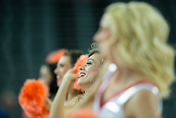 Cheerleaders perform during basketball match between Netherlands and Macedonia at Day 2 in Group C of FIBA Europe Eurobasket 2015, on September 6, 2015, in Arena Zagreb, Croatia. Photo by Vid Ponikvar / Sportida
