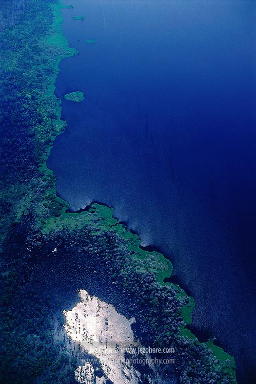 Lake Melintang, East Kalimantan, Indonesia.