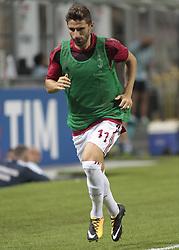 August 3, 2017 - Milan, Italy - Fabio Borini during the preliminaries of Europa League 2017/2018 match between Milan v Craiova, in Milan, on august 3, 2017  (Credit Image: © Loris Roselli/NurPhoto via ZUMA Press)