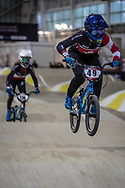 #49 (TUCHSCHERER Daina) CAN during practice at the 2019 UCI BMX Supercross World Cup in Manchester, Great Britain