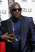 June 30, 2012-Los Angeles, CA : Recording Artist Young Jeezy attends the 2012 BET Awards held at the Shrine Auditorium on July 1, 2012 in Los Angeles. The BET Awards were established in 2001 by the Black Entertainment Television network to celebrate African Americans and other minorities in music, acting, sports, and other fields of entertainment over the past year. The awards are presented annually, and they are broadcast live on BET. (Photo by Terrence Jennings)