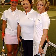 Tennisclinic Hilversum Open 2004, Sandy Kandau, Willeke van Amelrooy + Brigitte Nijman
