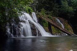 Beaver Falls, Olympic National Forest, Washington, US