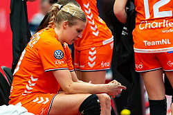 Danick Snelder of Netherlands disappointed during the Women's EHF Euro 2020 match between Croatia and Netherlands at Sydbank Arena on december 06, 2020 in Kolding, Denmark (Photo by RHF Agency/Ronald Hoogendoorn)
