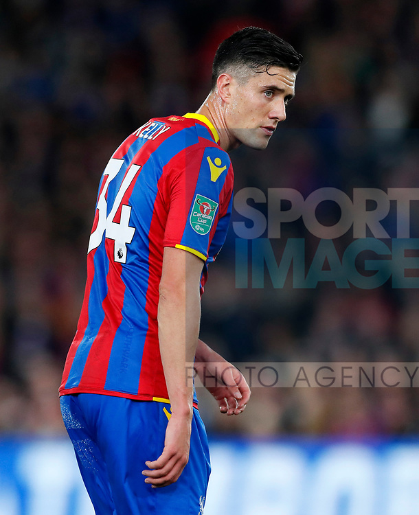 Crystal Palace's Martin Kelly in action during the Carabao cup match at Selhurst Park Stadium, London. Picture date 19th September 2017. Picture credit should read: David Klein/Sportimage