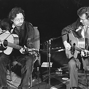 Norman Blake and Tony Rice playing Sanders Theatre, Cambridge, MA 1989
