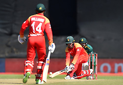 Cape Town-181006- Zimbabwean  batsman Peter Moor  batting against South Africa in the 3rd ODI match at Boland Park cricket stadium. .Photographer:Phando Jikelo/African News Agency(ANA)