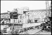 """Ackroyd 19047-R2-08  """"Zidell Exploration. Rochester Museum & Science Center"""" """"Scrapping USS Rochester. October 8, 1974"""""""
