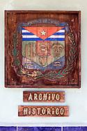 Plaque in Cardenas, Matanzas, Cuba.