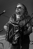Radoslav Lorkovic on accordion at the Sisters Folk Festival.  2012