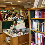 Customers browse the University Bookshop in Great King Street, Dunedin, New Zealand. 25th March  2011. Photo Tim Clayton.
