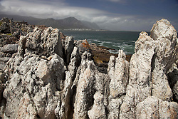 June 3, 2016 - the rocky coast at Hermanus, Western Cape, South Africa (Credit Image: © AGF via ZUMA Press)