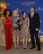 73rd Annual Golden Globe Awards Nominations<br /> <br /> AMERICA FERRERA + CHLOE GRACE MORETZ + ANGELA BASSETT + DENNIS QUAID at the 73rd Annual Golden Globe Awards Nominations held @ the Beverly Hilton hotel. December 10, 2015<br /> ©Exclusivepix Media