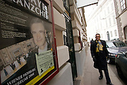 Wien/Oesterreich, AUT, 21.12.2007: Die beruehmte Tanzschule Elmayer in der Braeunerstraße im Wiener Stadtzentrum.<br /> <br /> Vienna/Austria, AUT, 21.12.2007: The famous Elmayer Dancing School at the Braeunerstraße in the city center of Vienna.