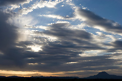 Clouds, landscape and sky, West Texas
