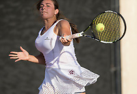 Vanderbilt vs. Texas A&M in an NCAA college tennis match, Friday, April 7, 2017, in College Station, Texas.