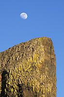 Moon over Sun Lakes-Dry Falls State Park, Columbia Plateau Washington