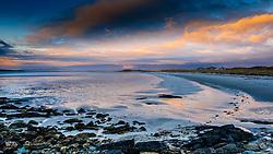 Sunset on a beach in North Uist, Outer Hebrides, Scotland<br /> <br /> (c) Andrew Wilson | Edinburgh Elite media