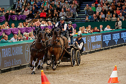 EXELL Boyd (AUS), Bajnok, Barny 68  Demi, Orias, Rocket 123<br /> Leipzig - Partner Pferd 2020<br /> TRAVEL CHARME Hotels & Resorts Trophy <br /> FEI Driving World Cup™<br /> FEI World Cup Qualifikation der Vierspänner<br /> Zeithindernisfahren für Vierspänner, international<br /> 19. Januar 2020<br /> © www.sportfotos-lafrentz.de/Stefan Lafrentz