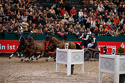 EXELL Boyd (SGS), Banjok, Clinton Star, Conversano Poker, Demi, Twilight<br /> Leipzig - Partner Pferd 2018   <br /> FEI World Cup Driving     <br /> © www.sportfotos-lafrentz.de/Stefan Lafrentz