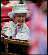 The Queen's Procession to Buckingham Palace