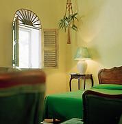 Hotel room at Cap-Haïtien, Haiti
