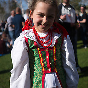 London,England,UK : 1st May 2016 : Hundreds from the Polish community and local attend the Days of Poland Festival 2016 at Potters Fields Park, Tower Bridge , London . Photo by See Li