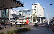 Urban redevelopment St Stephen's shopping centre, Hull, Yorkshire, England