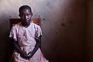 Portrait of a young Rwandan girl